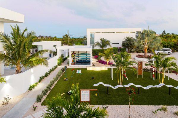 outdoor playground White Villas