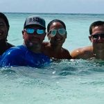 Andrew's family travel to Turks and Caicos