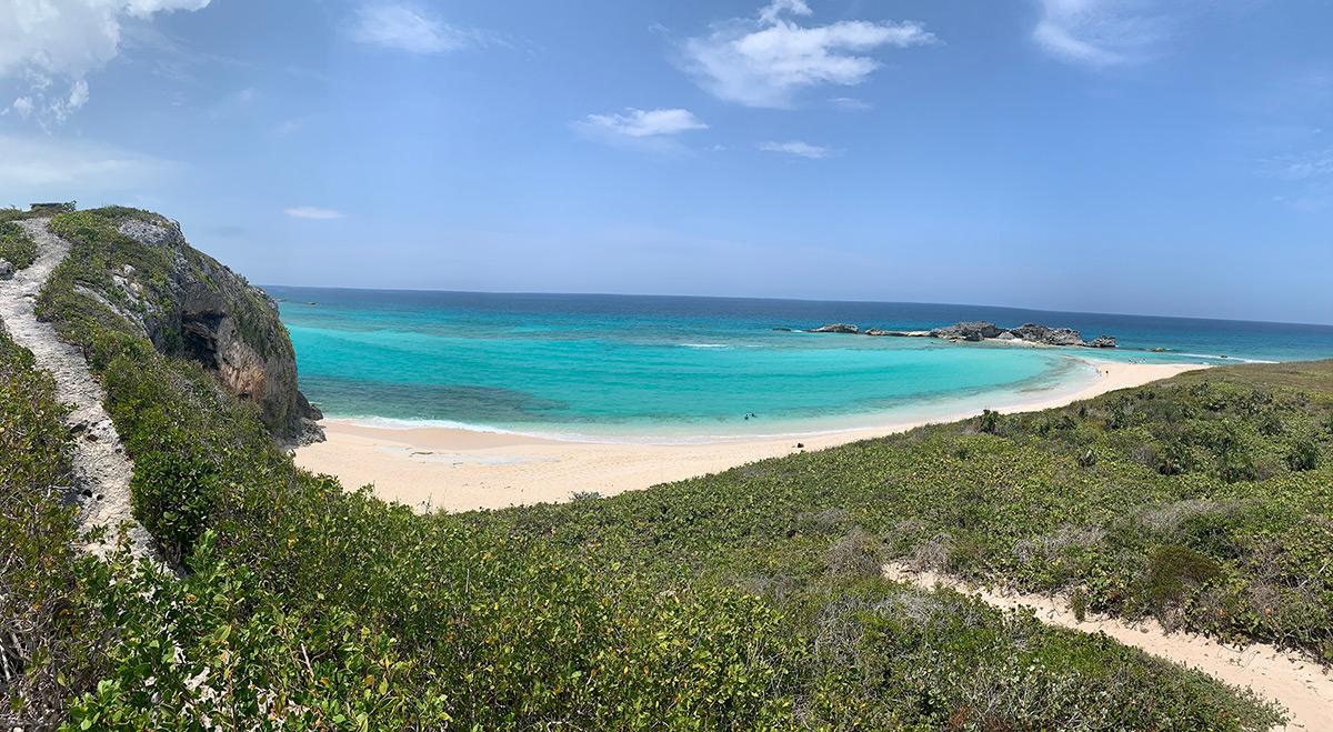 beach and sea in TCI