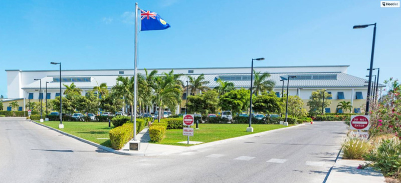 National Hospital on Providenciales