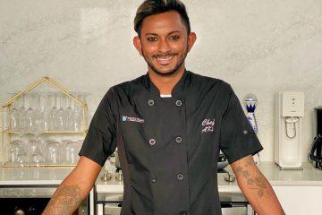 Chef at White Villas