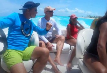 Kathy and Jason's family travel to TCI