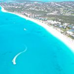 Turks and Caicos - aerial view