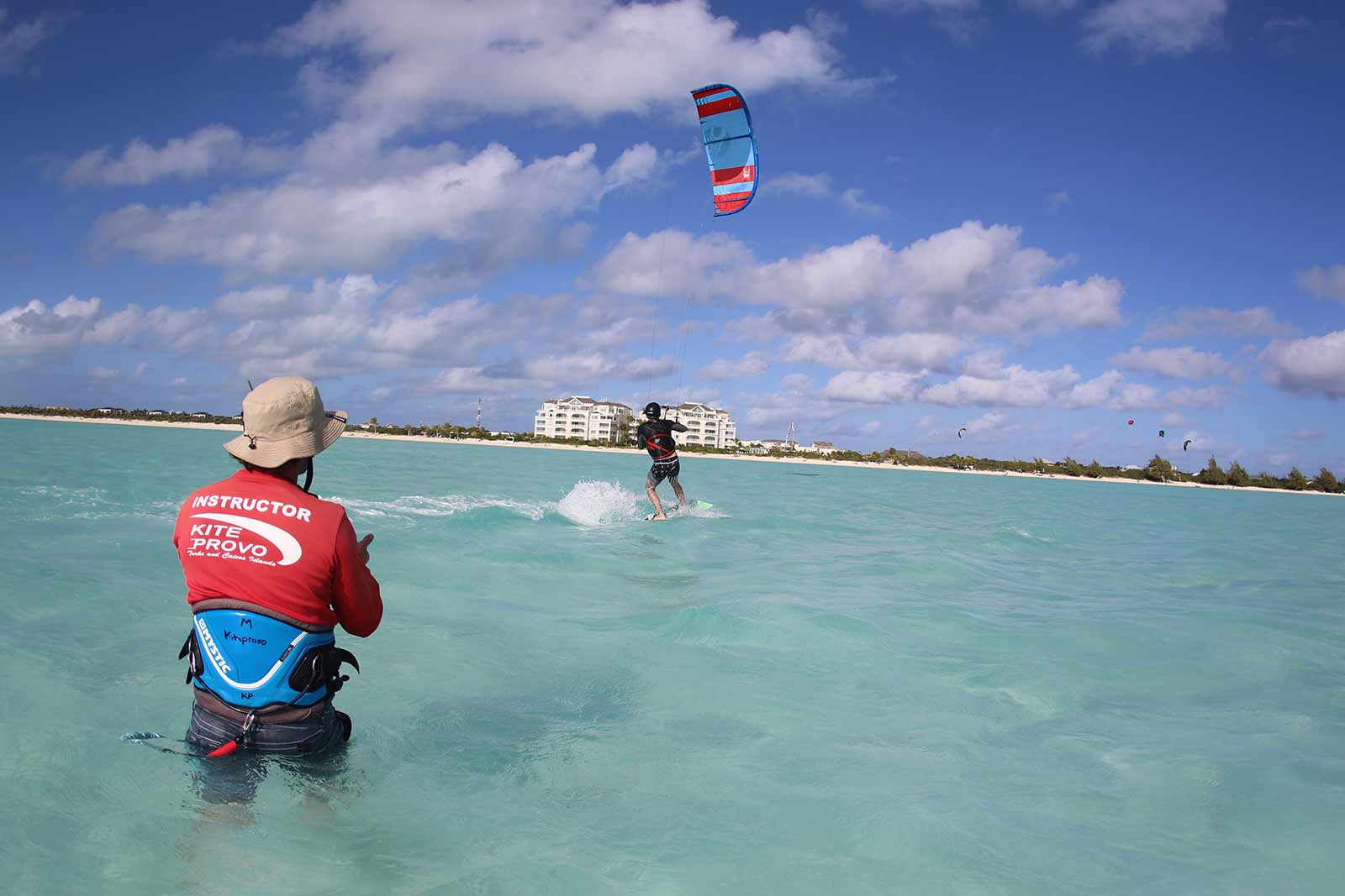 Take a kitesurfing lesson